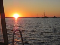 Sunset Anchorage at Alligator River