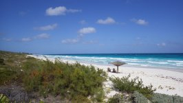 Highborne Cay Beach