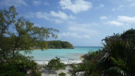 Normans Cay Hidden Beach