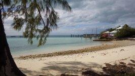 Staniel Cay Docks View