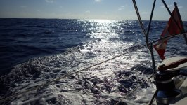 Crossing the Caicos Passage