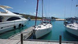 Docked at South Side Marina