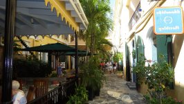 Boutique Alley of Charlotte Amalie