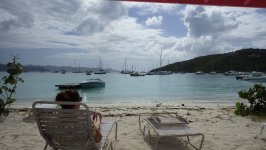 Relaxing at the Beach Jost Van Dyke