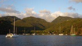 Sunset Approaching Anse A La Barque