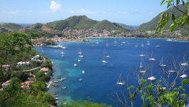 View of Bourg des Saintes