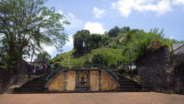 Saint Pierre Martinique Theatre Ruins