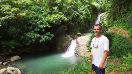 At Grenada Waterfalls