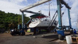 Haul Out at Grenada Marine