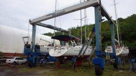 Yacht Hauling at Grenada Mrine